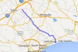 Route 904 to Sunset Beach |  North Carolina
