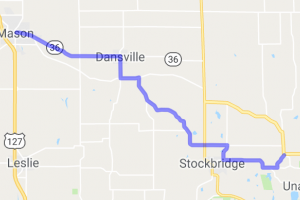 Dexter Trail - Gregory to Mason, MI |  Michigan