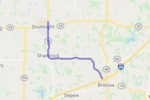 Bristow to Drumright OK Sport-Touring Scenic Highway |  Oklahoma