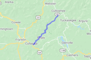 Elijay Road (County Route 1001)    North Carolina