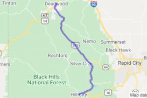 Deadwood to Hill City on Hwy 385 |  South Dakota
