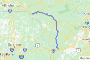 Route 97 Port Jervis To Hancock |  New York