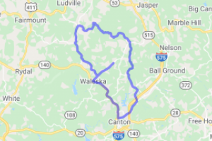Henderson Mountain Loop near Canton GA |  Georgia