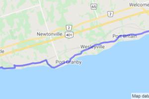 Lakeshore Rd. Near Port Hope (Ontario, Canada) |  Canada