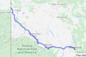Alaska Highway Whitehorse to the Alaska Boreder (Yukon, Canada) |  Canada