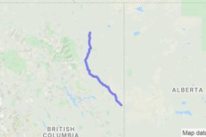 Alaska Highway  Rt. 97 Dawson Creek to Ft. Nelson (British Columbia, Canada) |  Canada