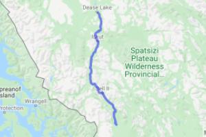 Cassiar Highway Meziadin Junction to Dease Lake (British Columbia, Canada) |  Canada