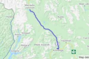Cassiar Highway Kitwanga to Meziadin Junction (British Columbia, Canada) |  Canada