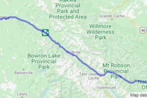 Yellowhead Highway 16  Prince George to Hinton AB (British Columbia, Canada) |  Canada