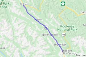Columbia River Route 95 (British Columbia, Canada) |  Canada
