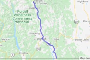 Kootenay Highway Rt.93 (British Columbia, Canada) |  Canada