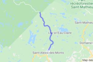 Saint-Alexis-des-Monts to Pins Rouges |  Canada