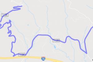 Skyuka Mountain Road & White Oak Mountain Drive |  North Carolina