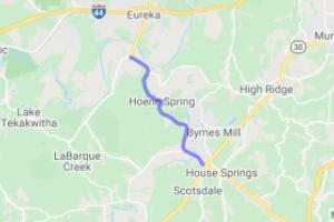 Highway W - Jefferson County    Missouri