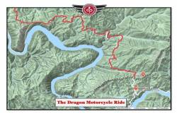 ride the dragon map