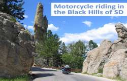 Best Black Hills area motorcycle rides near the Sturgis Motorcycle Rally