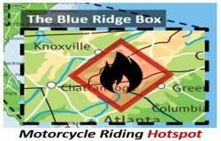blue ridge box motorcycle riding hotspot