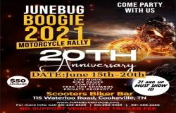 June Bug Boogie - Spring Motorcycle Rally |  Tennessee