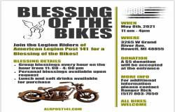 ALR Post 141 Blessing of the Bikes |  Michigan