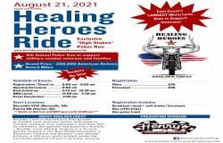 8th Annual Healing Heroes Ride  |  Virginia