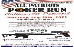 All Patriots Poker Run    Wyoming