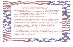 Veterans Appreciation Day! |  Alabama