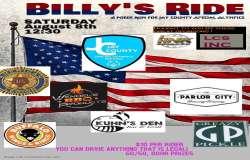 Billy's Ride Poker Run for Jay County Special Olympics  |  Indiana