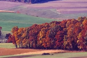 Pennsylvania farm in the fall