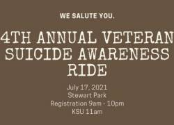 4th Annual Veteran Suicide Awareness Motorcycle Ride |  Oregon