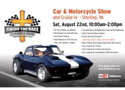 2020 Finish The Race Summer Car & Motorcycle Show and Cruise-In |  Virginia