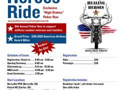 8th Annual Healing Heroes Ride  |  Virginia