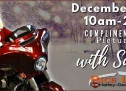 Pictures with Santa at Rice Lake H-D |  Wisconsin
