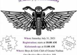 3rd Annual Addiction Awareness Ride    New Hampshire