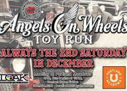 Angeles on Wheels Toy Run for Randall Children's Hospital |  Oregon
