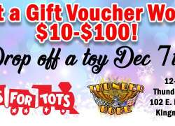 Thunder-Rode's 2nd Annual Togs for Tots Event |  Arizona