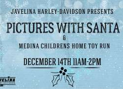 Pictures with Santa and Angel Tree Toy Run |  Texas