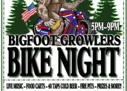Bigfoot Growlers Bike Night |  Oregon