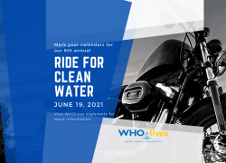 WHOlives 6th annual Ride for Clean Water 2021 |  Utah
