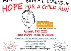 "RIders for Christ M.M. Annual ""Hope for a Child"" run 