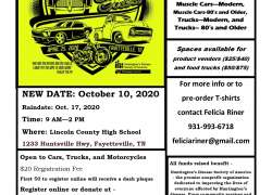 5th Annual Cruisin' For A Cure For Huntington's Disease |  Tennessee