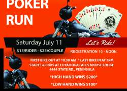 9th Annual MOM Charity Poker Run |  Ohio