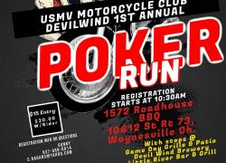U.S. Military Vets MC Poker Run and Blessing of the Bikes |  Ohio