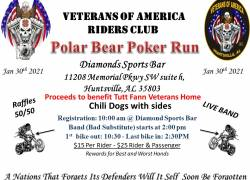 Annual Veterans of America RC Polar Bear Poker Run |  Alabama