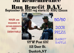 911 Remembrance Run Benefit DAV |  New York