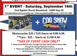 """Supporting our Military Heroes"""" Ride and Car Show 