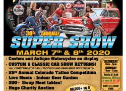 30th Annual Super Show & Swap Meet |  Colorado