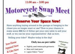 Warrior Angel Riders 1st Annual Motorcycle Swap Meet |  Washington