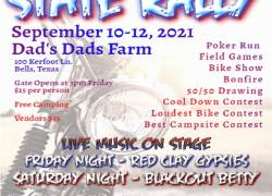 Texas ABATE 25th Annual State Rally |  Texas