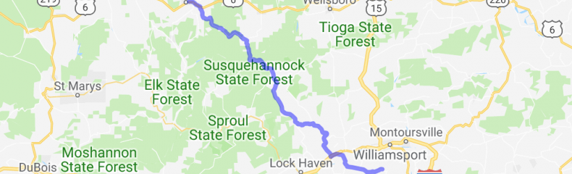 PA Route 44    Pennsylvania