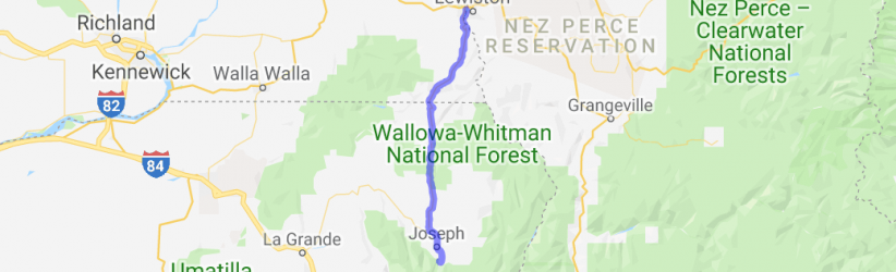 Rattlesnake Pass to Wallowa Lake |  Washington
